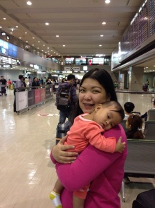 at the Narita International Airport
